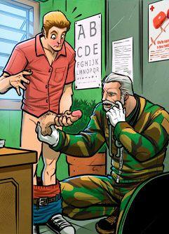 De pau duro no alistamento militar